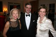 From left, Nina Pillsbury, co-chairman of the evening benefit; Francois Delattre, France's ambassador to the U.S.; and Sophie Delattre.