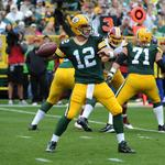 Aaron Rodgers among top 5 in merchandise sales; <strong>Russell</strong> <strong>Wilson</strong> soars to top