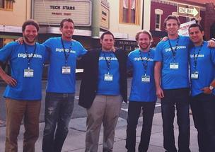 The DigitialOcean team during their time at the Techstars Boulder program in 2012.