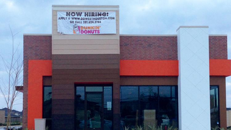 Dunkin' Donuts' Katy location will open March 18.