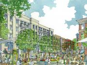 The newest rendering of Skyland Town Center.