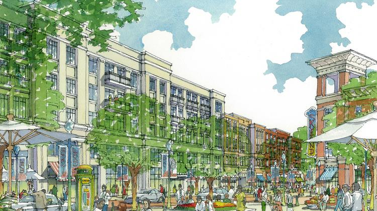 The Skyland Town Center property is now in the hands of the development team.