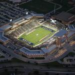 Allen Eagle Stadium closed because of extensive cracking