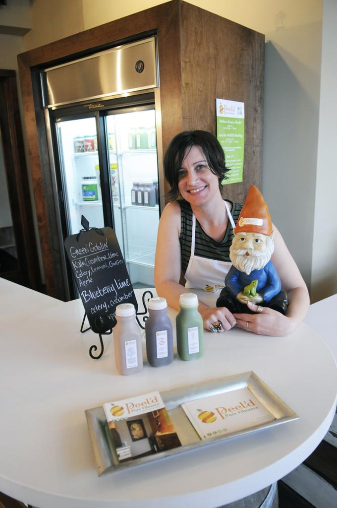 Brandy Jo Neth-Aranjo expects to expand her midtown Peel'd juicery to Roseville.