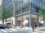 The new office building planned by Blake Real Estate for 21st and K streets NW will include 4,000 square feet of retail.