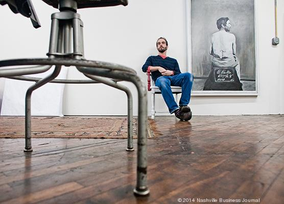 Painter Dane Carder is owner of Threesquared Gallery and director of David Lusk Gallery.
