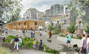 The new entrance to Pike Place Market will have a walkway to the waterfront.