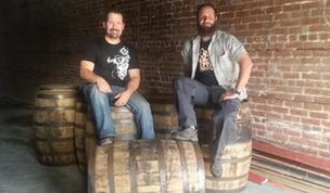 Tom Karvonen and Dave Estis are co-owners of Oak Park Brewing.