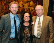 Campos Inc.'s Casey Taylor, left, and Yvonne Campos and Arthur Williams of Risk Discovery Services JV.