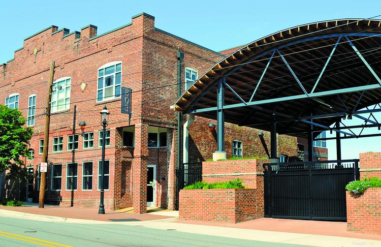 The offices of Linville I Team Partners in Winston-Salem.