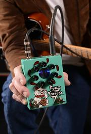 The flagship Fuzz Factory 7 pedal is Z.Vex's most popular.