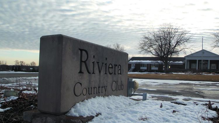 The Riviera Golf Club could get split into 284 lots for high-end, single-family homes.