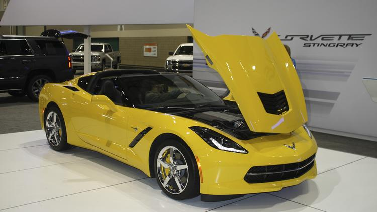 General Motors Co. makes the Corvette Stingray in Bowling Green.