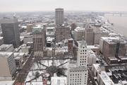 100 N. Main offers amazing views of Downtown Memphis