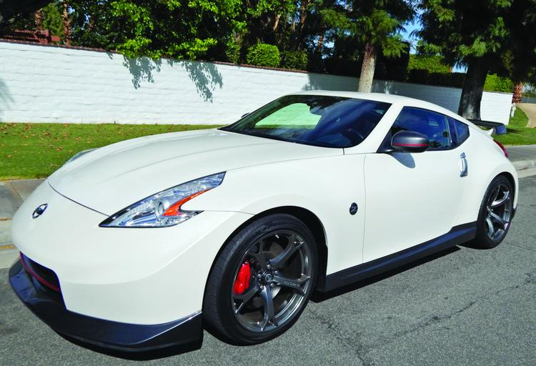 The Nissan 2014 370Z has a sticker price of $46,370, as pictured.