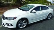 The 2014 Volkswagen CC R-Line has a sticker price of $34,990, as pictured.