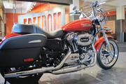 The SuperLow 1200T is one of Harley-Davidson Motorcycle Co.'s newest models, which debuted during Daytona Bike Week in Florida.