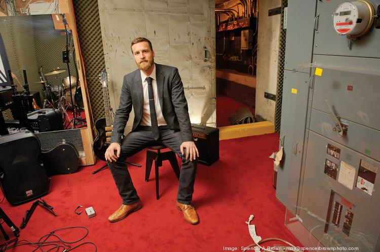 BandPage now works with 500,000 artists, including Beyoncé and Justin Timberlake, says CEO J Sider,  in the basement practice room of the company's San Francisco headquarters, where space is available to employees to hold after-hours jams.