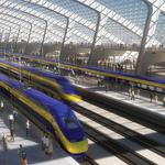 California bullet train connecting S.F. and L.A. breaks ground today