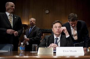 SpaceX CEO Elon Musk argued before a Senate Appropriations subcommittee Wednesday that the U.S. military is leaving money on the table by awarding contracts exclusively to United Launch Alliance LLC.