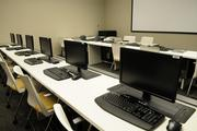 The Kukae Moku training room where pilot trainings take place at the Hawaiian Airlines headquarters in Honolulu.