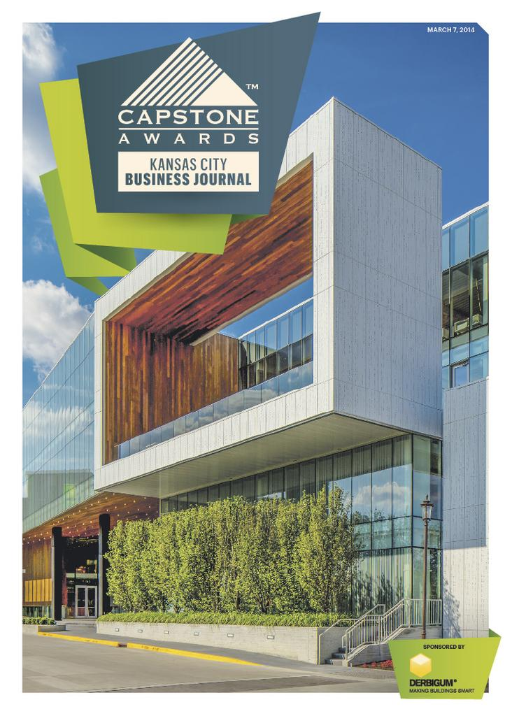 This year's Capstones Awards cover.