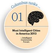 Most Intelligent Cities in America 2013 Click here for the website.
