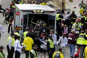 To people are confirmed dead and 23 were injured in today's explosion at the Boston Marathon.