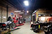 Fort Houston has about six people who work on or repair motorcycles.
