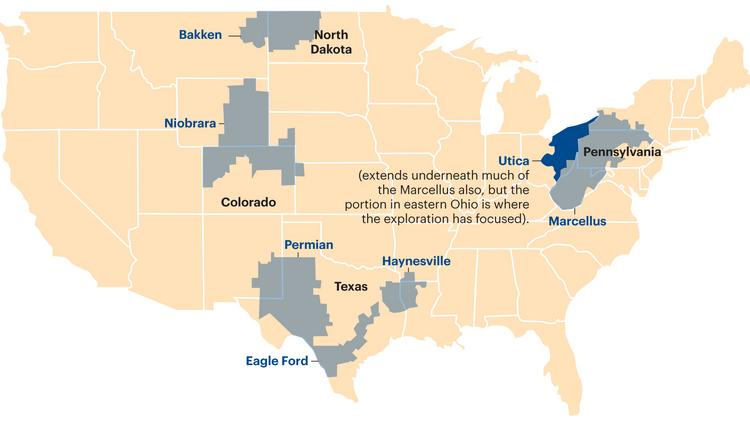Utica shale play equal to Marcellus play, West Virginia