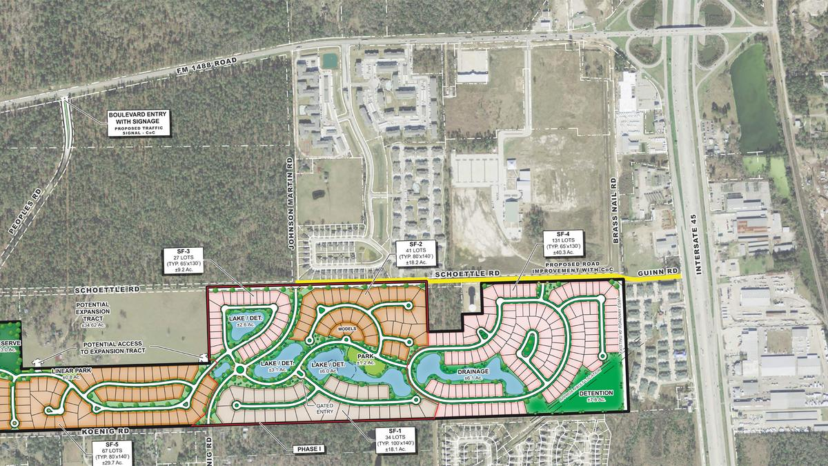 Gracepoint Homes will build close to Exxon Mobil's new campus near the Woodlands - Houston Business Journal
