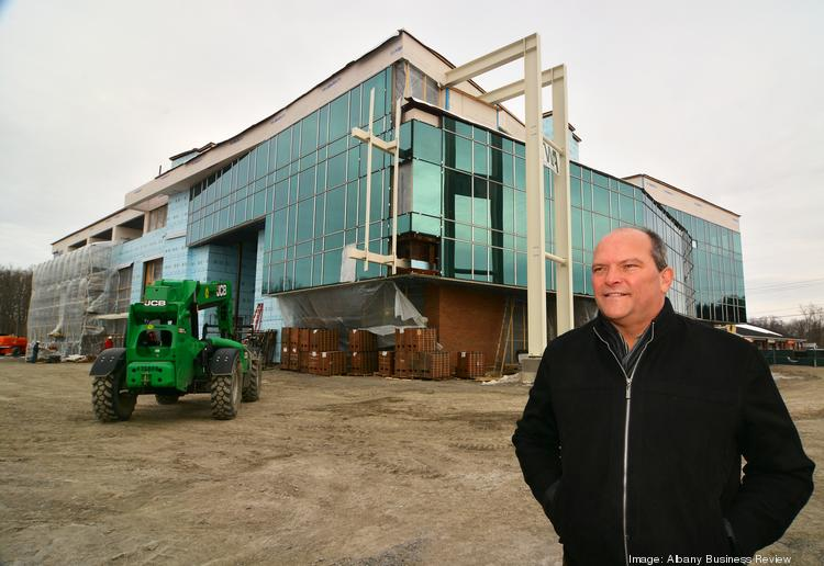 Bill Socha, president of Socha Management Inc. in Glenville, NY, has signed several health care and retail tenants as he wraps up work on a new $10 million new commercial building.