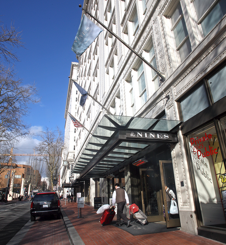 The Portland Development Commission is considering accepting an $11.5 million offer to satisfy the $18.2 million it is owned on four low-interest loans it made to construct The Nines at the former Meier & Frank building in downtown Portland.