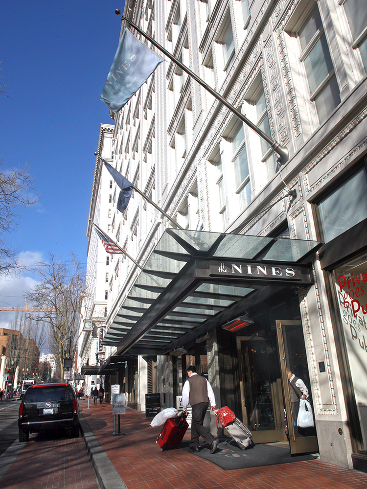 The Portland Development Commission voted unanimously Wednesday to accept  $11.5 million from Sage Hospitality of Denver to satisfy the $18.2 million it is owed on four low-interest loans it made to construct The Nines at the former Meier & Frank building in downtown Portland.