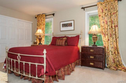 19217 Brookhollow Drive: One of the bedrooms is shown.