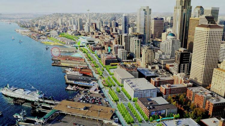 Two Seattle tech vets have a bold plan to block off 150 miles of ...