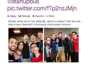 Stephen Nguyen's Twitter feed shows the team testing out their profile using the A/B method.
