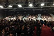 """The room was packed for Dr. Neil deGrasse Tyson's talk during SXSW Interactive in Austin, Texas, on Saturday. Tyson's documentary television series """"Cosmos: A Spacetime Odyssey"""" debuts on Sunday on Fox networks."""