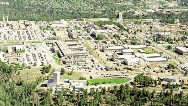 Los Alamos National Laboratory is the primary reason for the area's affluence.