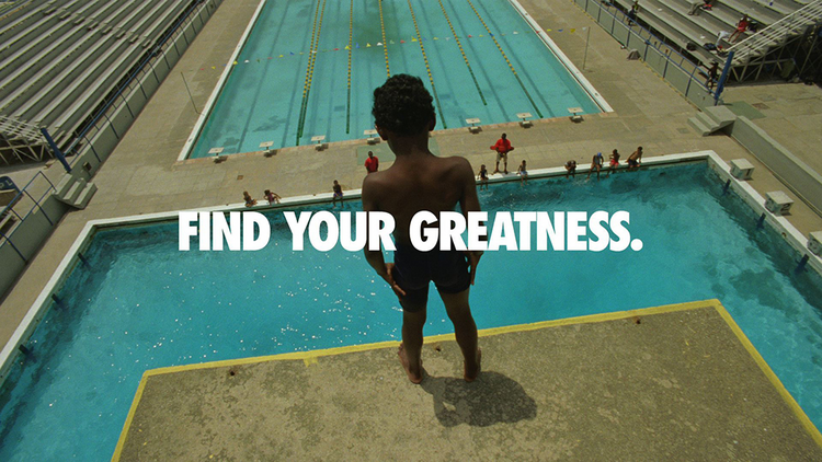 """Nike Inc. launched the """"Find Your Greatness"""" campaign prior to last year's Summer Olympics in London."""