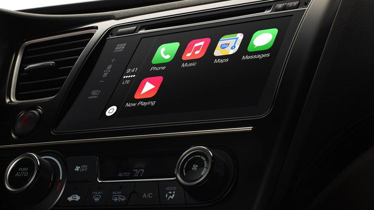 Apple's CarPlay service is slated to go live in 29 different carmaker's vehicles.