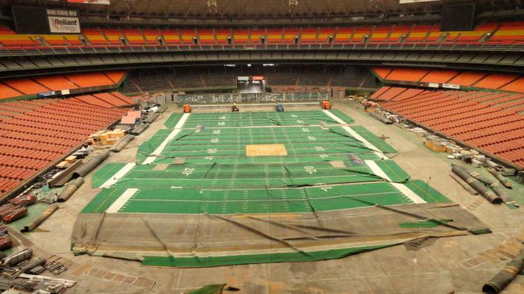 Click here to see Houston Business Journal's slideshow from the 2012 media tour inside the Astrodome.