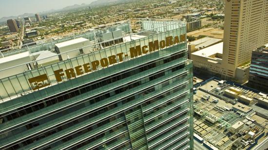 Arizona's largest companies, such as Freeport-McMoRan Copper & Gold, have recovered well from the recession.