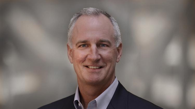 Mike Burkland, president and CEO of Five9.