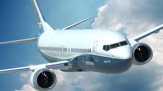 The Boeing Co. delivered 115 of its 737 aircraft in the first quarter.