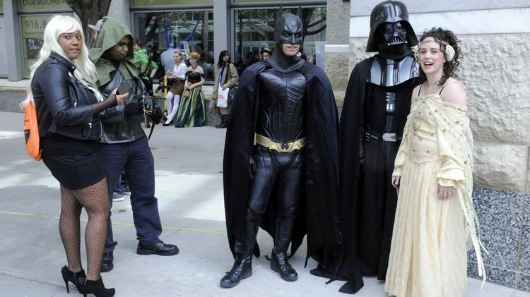 Costumes are part of the fun at Wizard World Comic Cons, such as this one in Sacramento, Calif. Louisville's Comic Con took place over the weekend.
