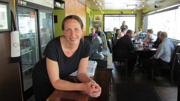 Kim Collett is the owner of Olive, an urban dive in downtown Dayton.