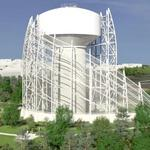 Massive water tower planned for St. E's, but artsy enclosure wins no fans