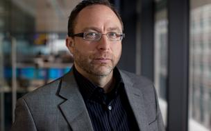 Jimmy Wales, co-founder of Wikipedia, poses for a photograph in London, U.K., on Monday, November 7, 2011. To keep the online encyclopedia free and without advertising, Wikimedia Foundation Inc., the non-profit organization that operates Wikipedia, has held funderaisers since 2005, and is currency considering accepting Bitcoin donations.