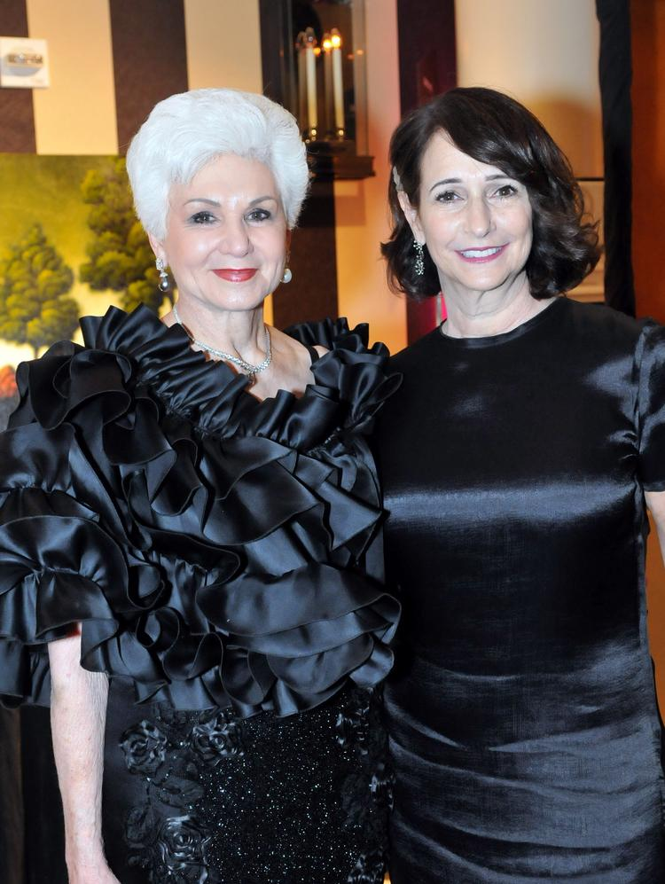 Philanthropist Becky Benaroya, left, a longtime supporter of the Juvenile Diabetes Research Foundation, with Sherry Benaroya, co-chairwoman of  the 25th annual JDRF Dream Gala, which raised almost $5 million in the fight against Type 1 diabetes March 8 at the Seattle Sheraton Hotel.